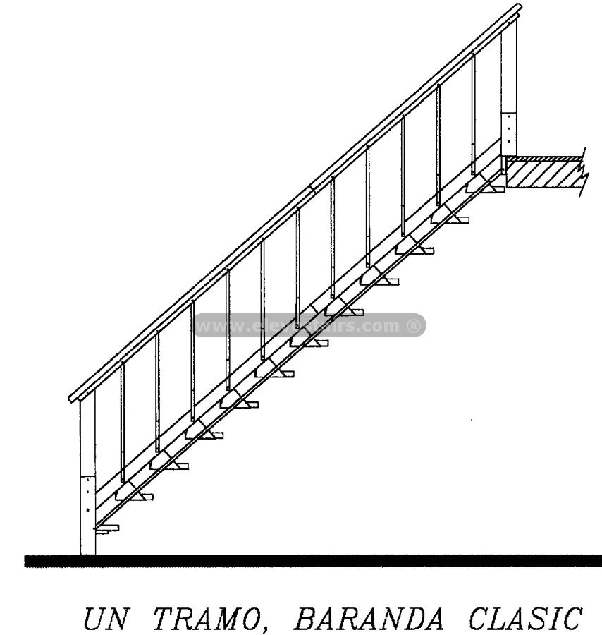 854x900 Stair Railings, Balusters, Handrails