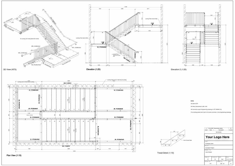 960x678 Steel Detailing Uk Steel Cad Drawings Fabrication Drawings