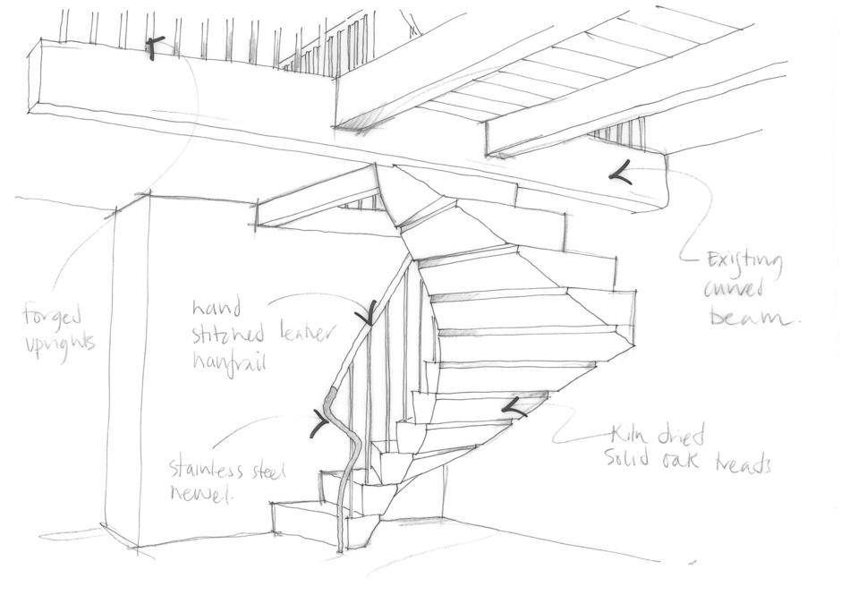 940x665 Shippon Staircase Northern Design Awards