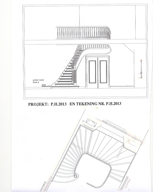 618x776 From Drawing To Stairs