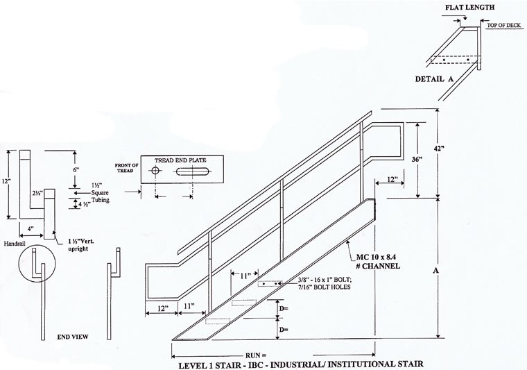 760x533 Folded Plate Staircase Structural Details Staircase Gallery