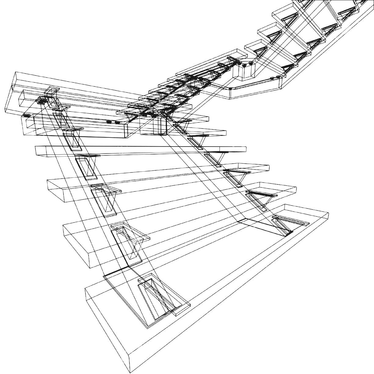 1225x1225 Spiral Staircase Drawing