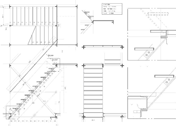 Staircase Plan Drawing