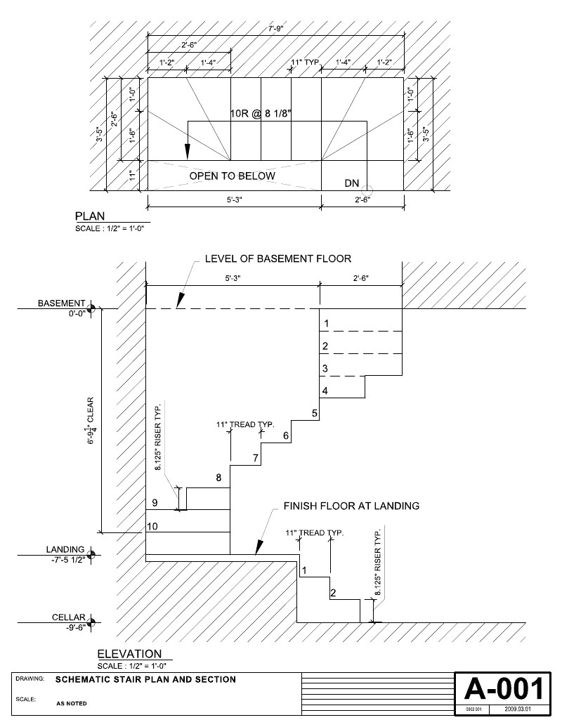 800x1035 Stairs Dimensions Home Design Understanding The Construction