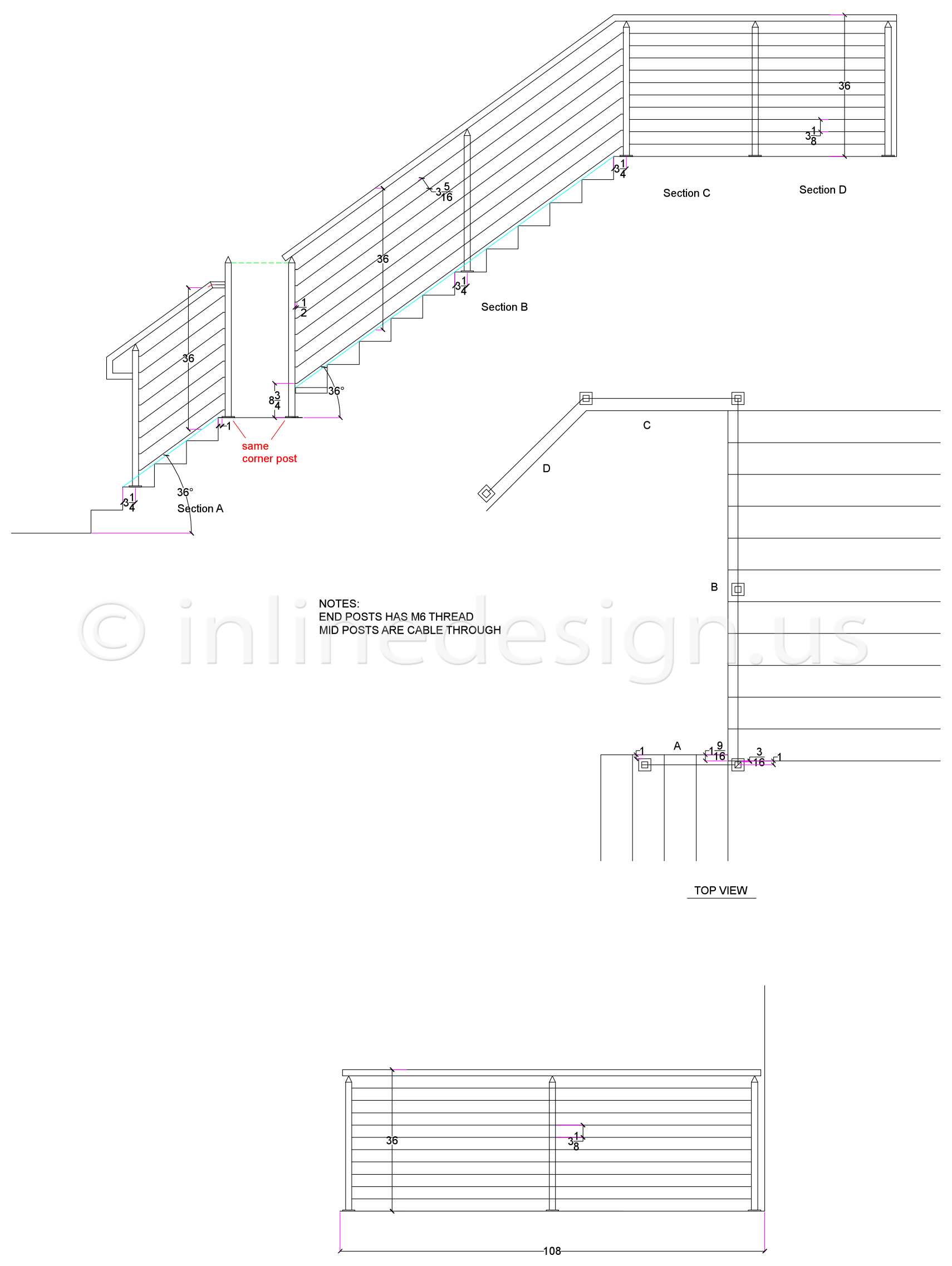 Stairs Section Drawing at GetDrawings com | Free for personal use