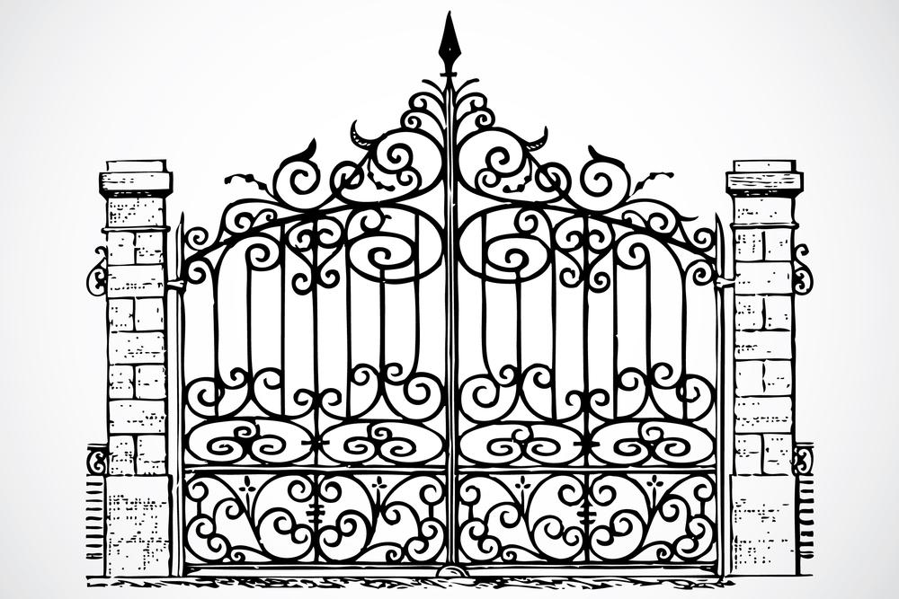 1000x667 Gates Of Heaven Drawings