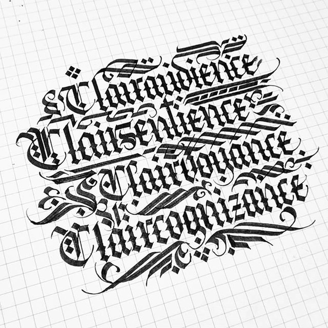 1080x1080 Calligraphy Like