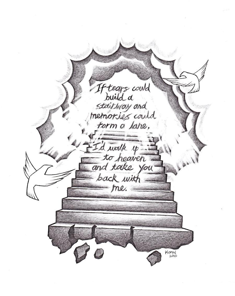 900x1134 Popular Drawing Designs Stairway To Heaven By Heteroclite360