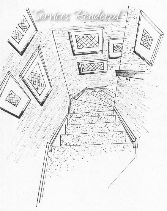 Stairwell Drawing