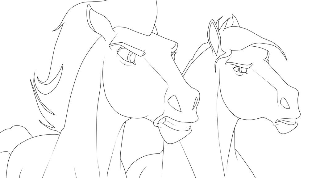 1024x576 Spirit Stallion Of The Cimarron Colt Drawing