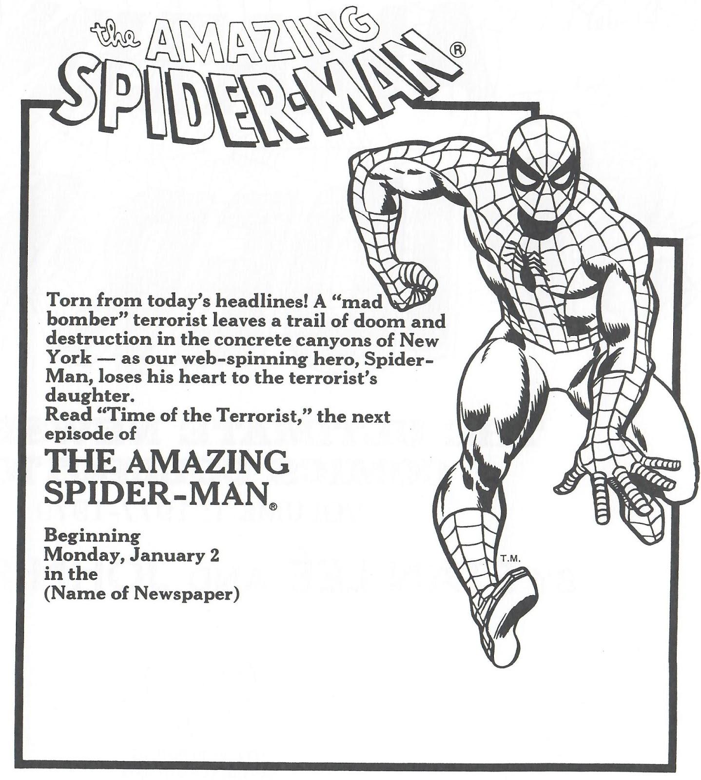 1438x1600 Not A Hoax! Not A Dream! Spider Man Newspaper Strip Part 4