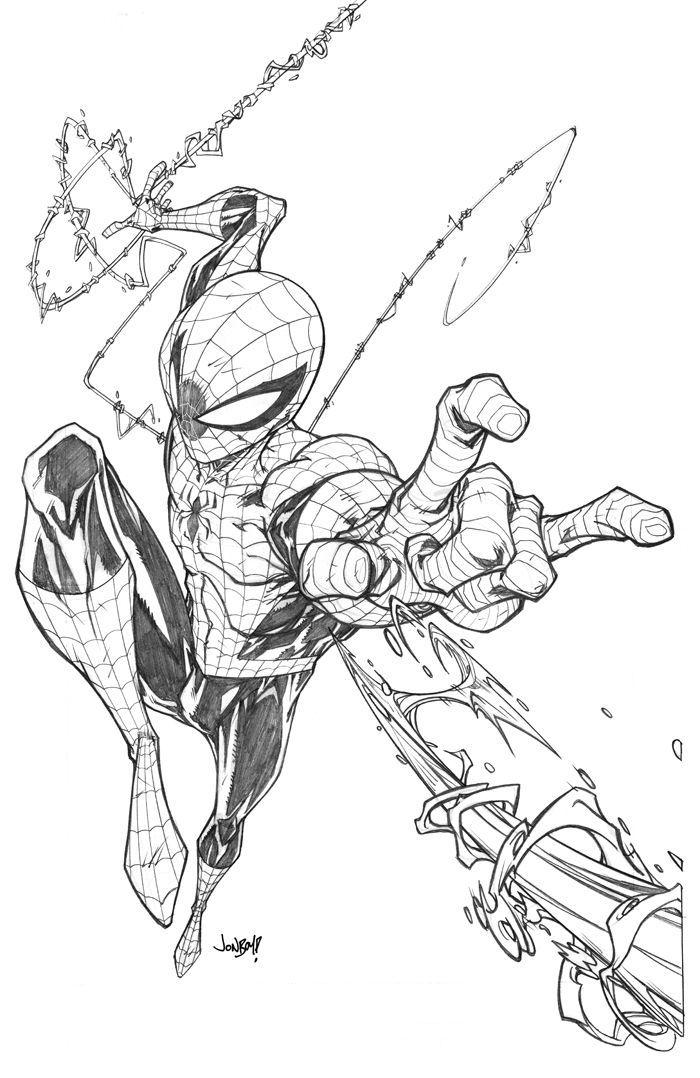 Stan Lee Spiderman Drawing