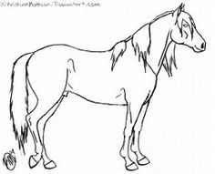 236x191 Horse Drawing Source