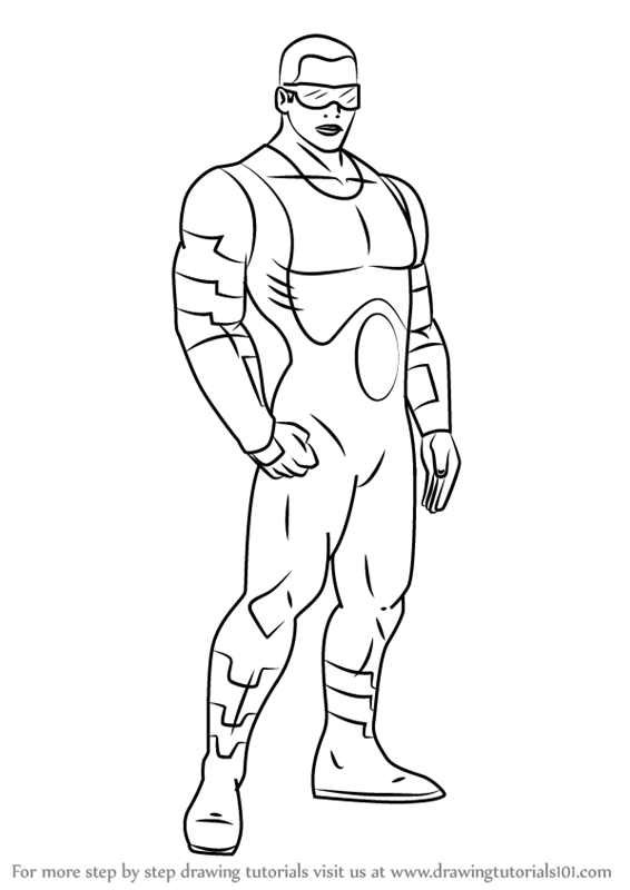 566x800 Learn How To Draw Power Man From Ultimate Spider Man (Ultimate
