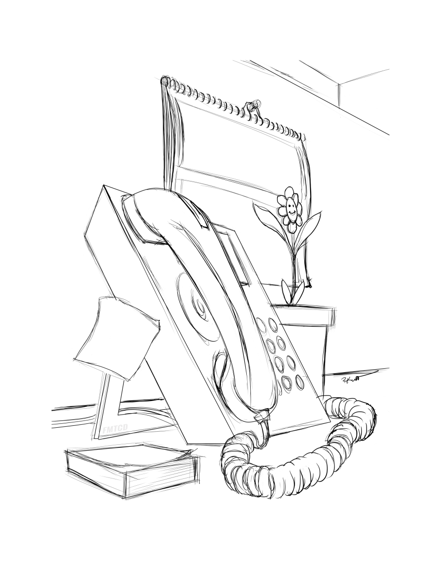 906x1172 Telephone Coloring Page For Your Adult Coloring Needs! Coloring