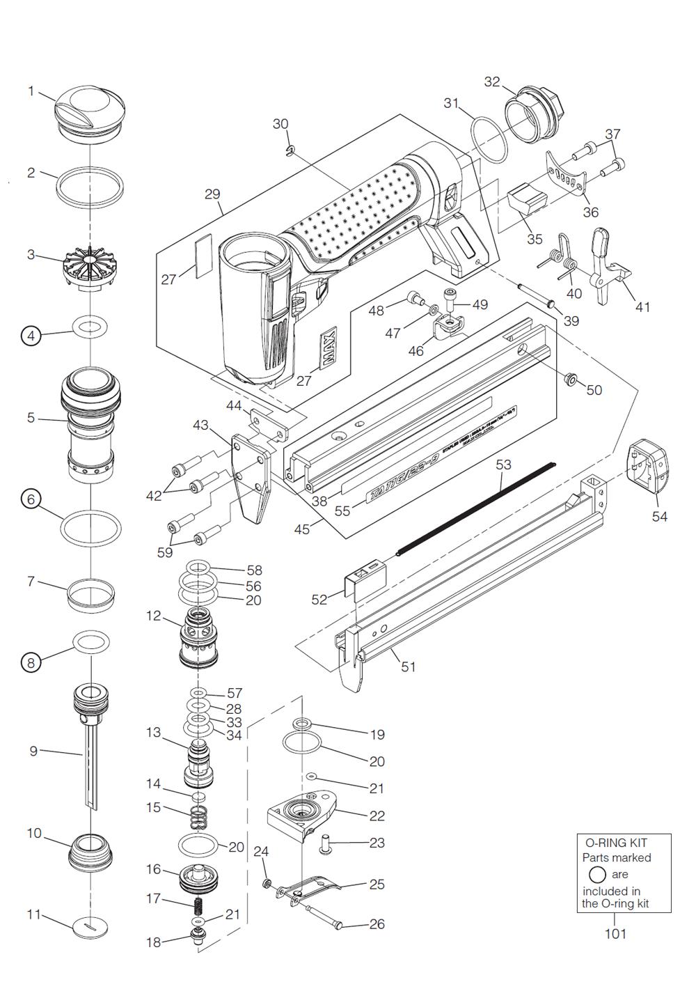 1000x1410 Buy Max Ta116 22 9 Replacement Tool Parts Max Ta116 22 9 Lta Href