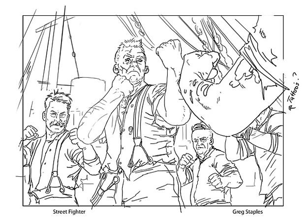 620x455 Sketches Instigator Gang Magic The Gathering