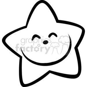 300x300 Royalty Free Royalty Free Smiling Little Star Cartoon Character