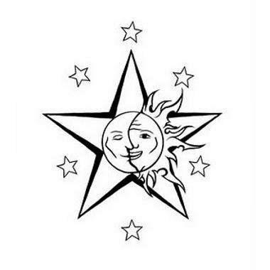 380x380 Star With Sun Moon Tattoo Tat Ideas Sun Moon
