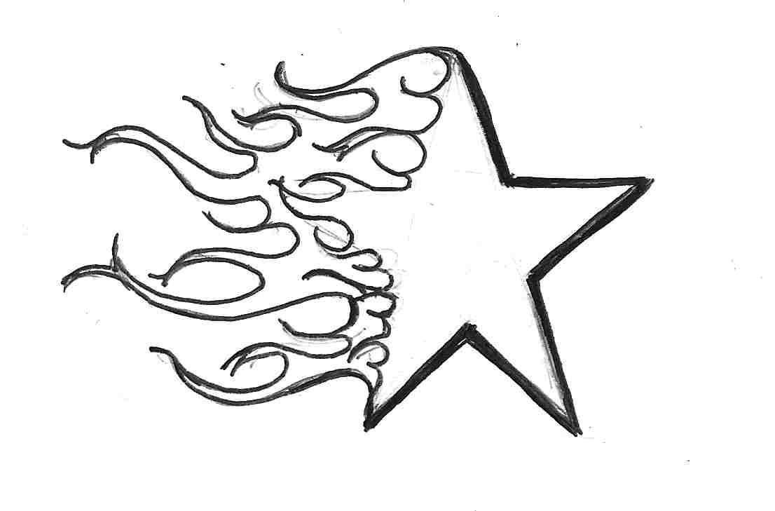 Star Design Drawing at GetDrawings.com | Free for personal use Star ...