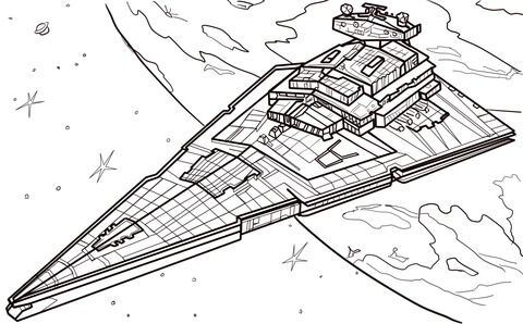 480x298 Star Destroyer Coloring Page Free Printable Coloring Pages