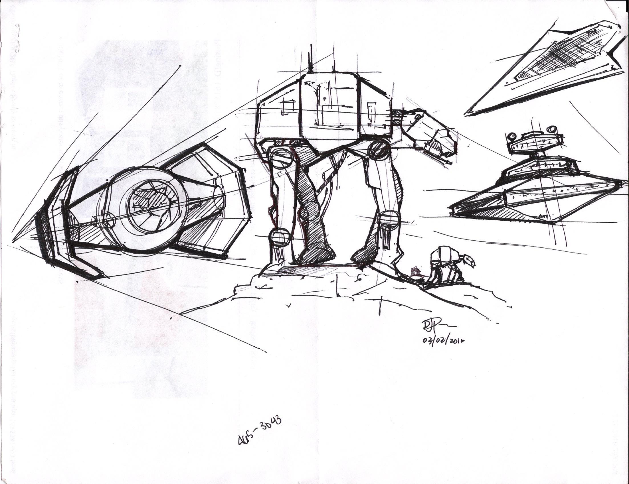 2205x1698 Star Wars Imperial Vehicles Sketches. Star Wars Badassery