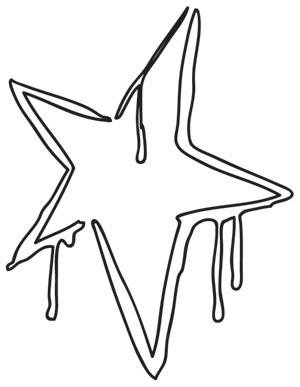 300x387 Graffiti Star Urban Threads Unique And Awesome Embroidery Designs