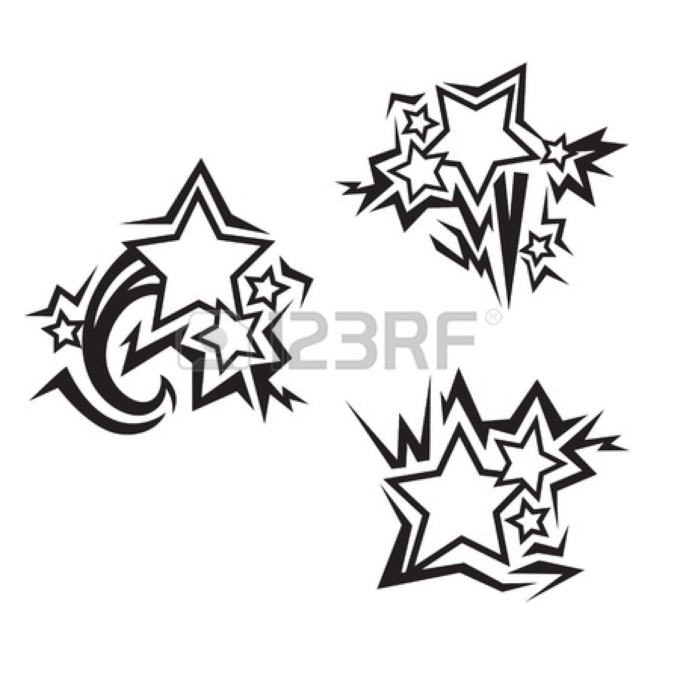 1350x1350 Graffiti Star Drawing How To Draw An Impossible Star