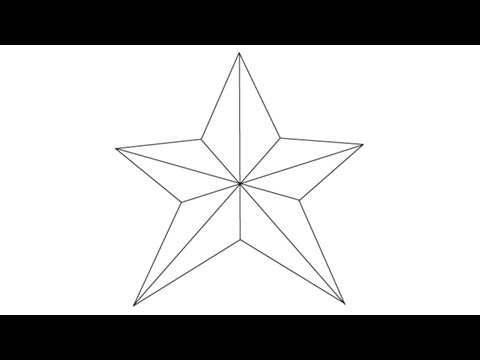 480x360 How To Draw A Star