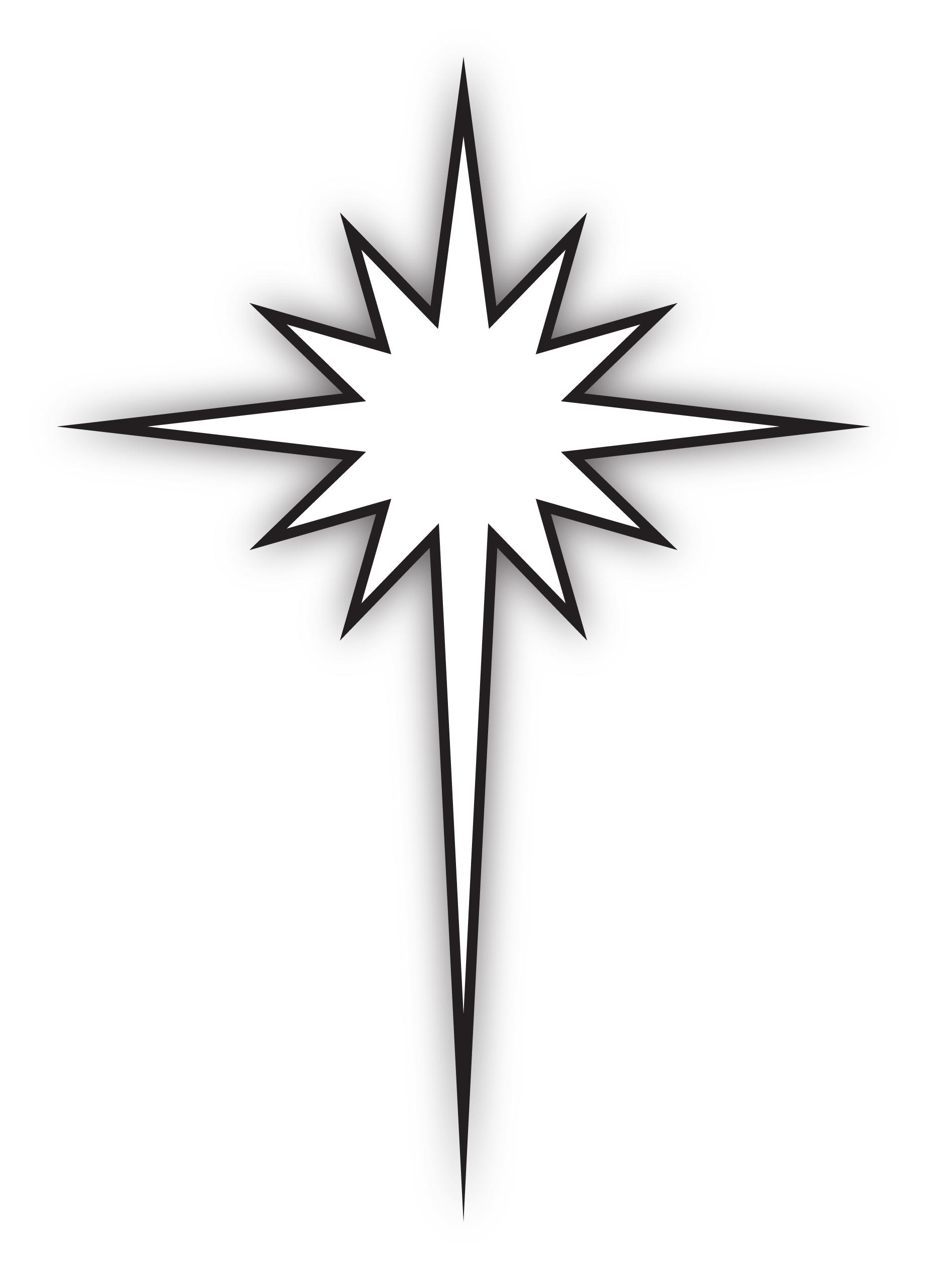 1848x2551 Best Photos Of Star Of Bethlehem Drawing
