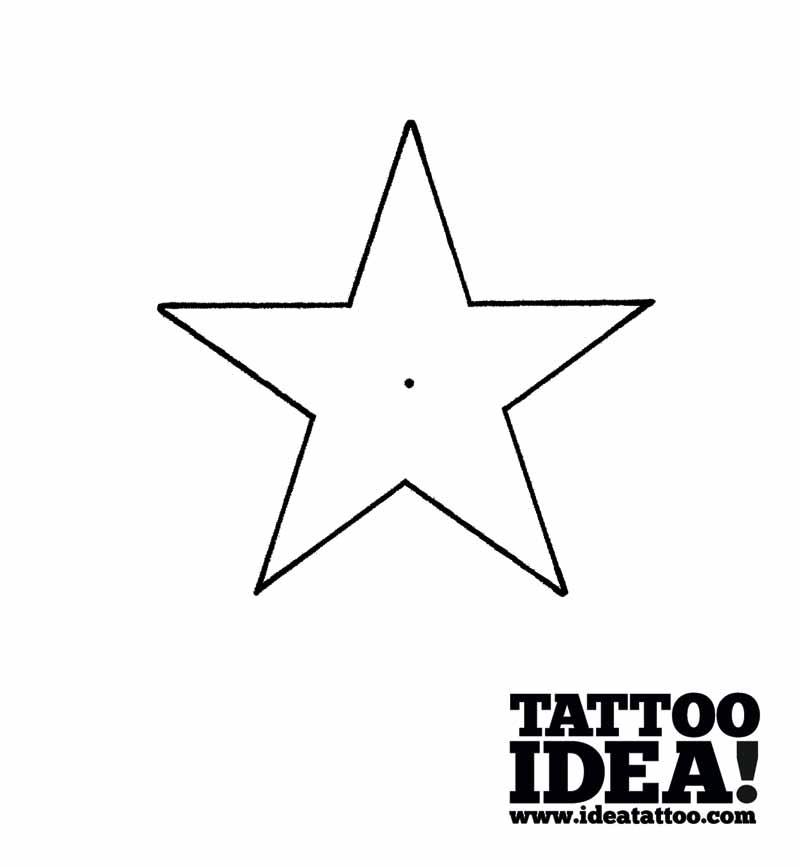 800x867 Tattoo School Draw A Nautical Star With A Ship's Helm Ideatattoo