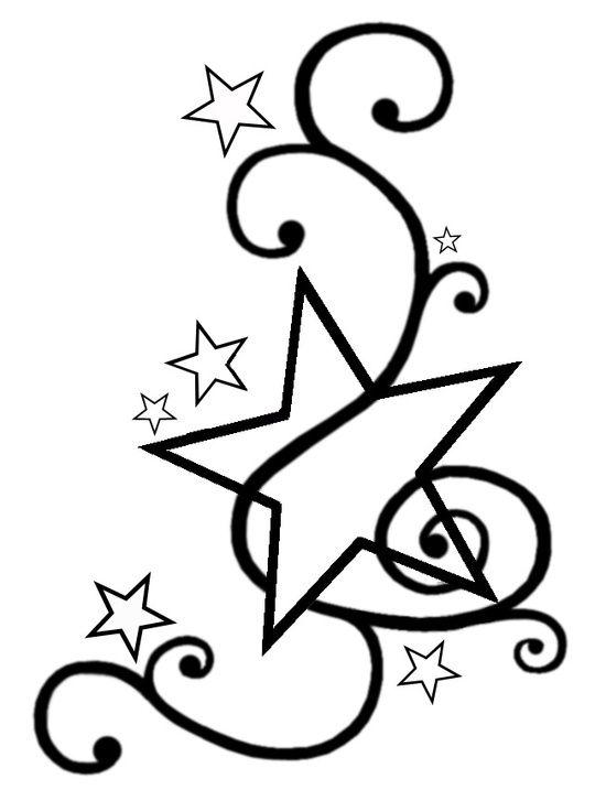 550x717 Star Tattoo Designs Star, Tattoo And Tatting