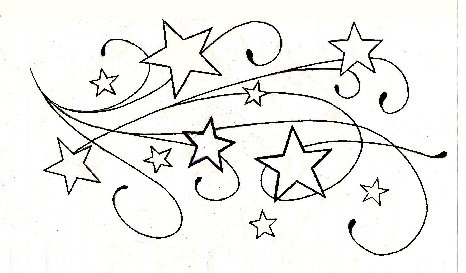 1765x1033 Unique Star Tattoos Designs