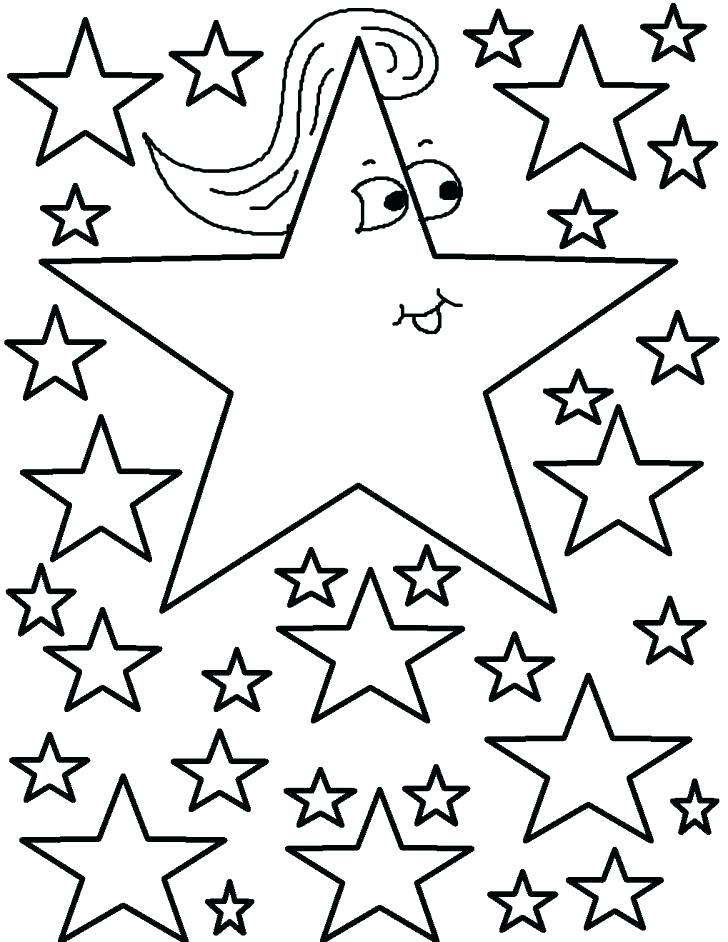 728x942 Star Coloring Pages Printable Shooting Star Coloring Page