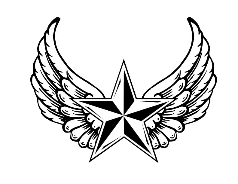 Star Drawing Tattoos At Getdrawings Free For Personal Use Star