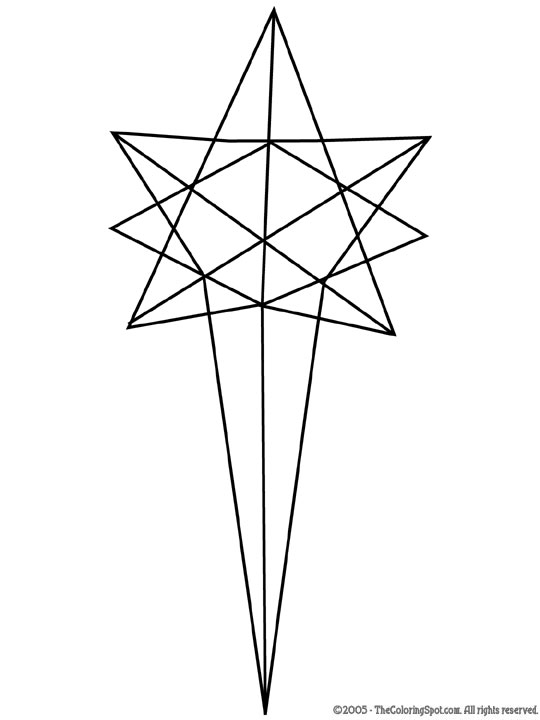 540x720 Star Of Bethlehem Audio Stories For Kids Amp Free Coloring Pages