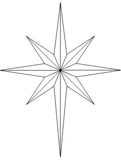 Star Of Bethlehem Drawing at GetDrawings.com   Free for ...