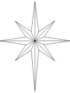 236x312 North Star Bethlehem Clipart. Antique Illustration