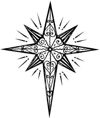 381x450 Star Of Bethlehem Drawing