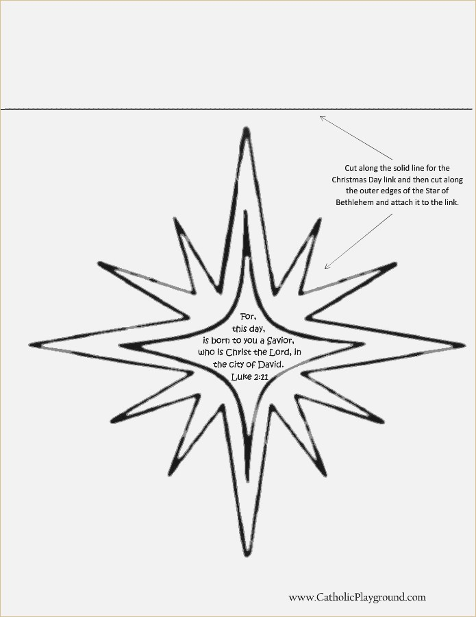 695x900 Star Of Bethlehem Template Printable Flightspace.co