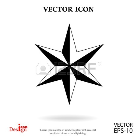 450x450 The Six Pointed Jewish Star Of David In The Style Of Doodle