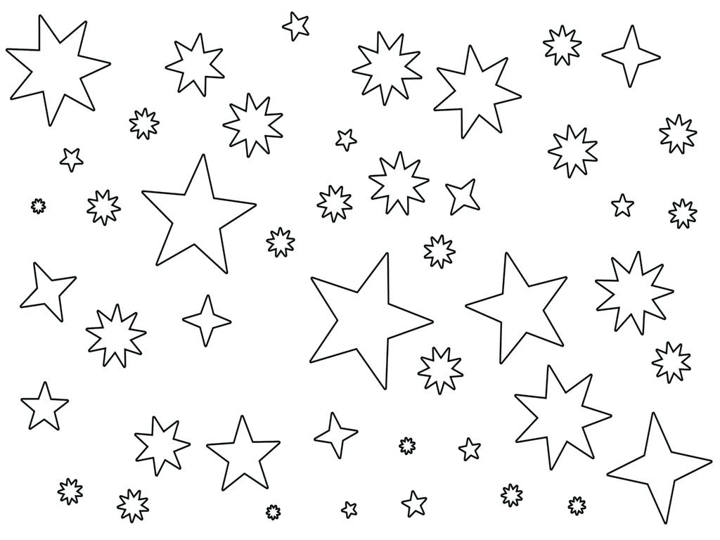 1024x768 Printable Printable Star Pattern Drawn 4. Printable Star Pattern