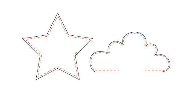 612x295 How To's Day Star And Cloud Shape Pillows Tutorial Camelot