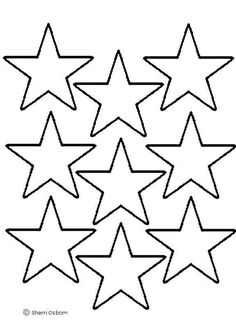 236x324 Multiple Sizes Of Star Template Pages On This Site, Including