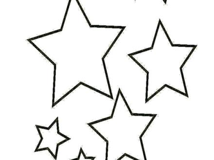 440x330 Star Shape Coloring Page Coloring Page Of A Star Shape Star Shape