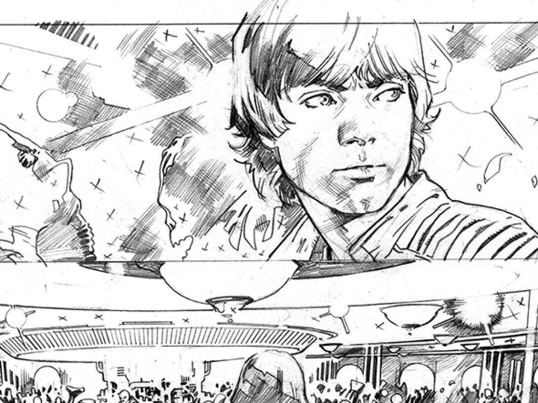 1088x816 Open John Cassaday's Star Wars Sketchbook, Part 2