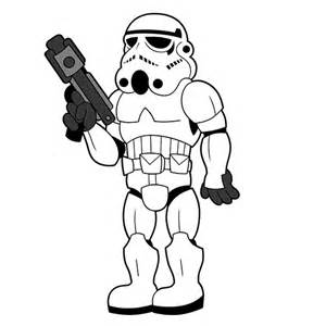 300x300 How To Draw Stormtrooper From Star Wars Cartoon Drawing Album