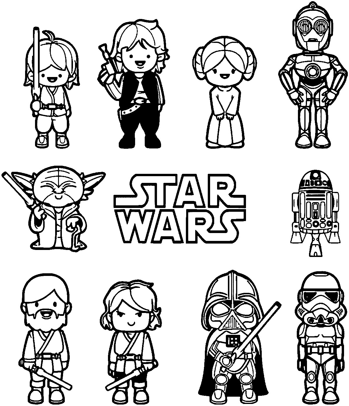 1196x1392 Star Wars Cartoon Coloring Pages Copy Star Wars Coloring Pages