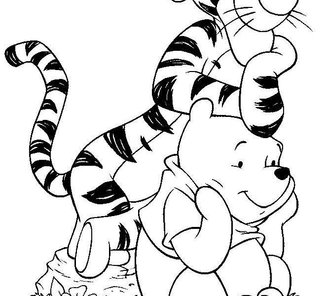 661x600 Cartoon Characters For Colouring Best 25 Disney Coloring Pages
