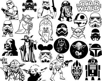 340x270 Star Wars Clipart Etsy